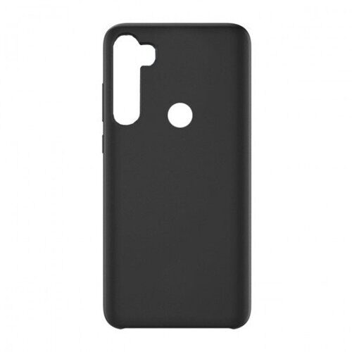 Чехол Silicone cover для Xiaomi Redmi Note 8, черный