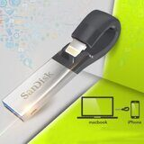 Флешка Оtg SanDisk iXpand USB 3.0/Lightning 32GB