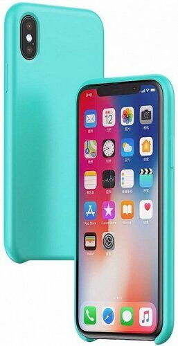 Чехол для iPhone X,Xs Baseus Case Original LSR (WIAPIPH58-ASL03)  (голубой)